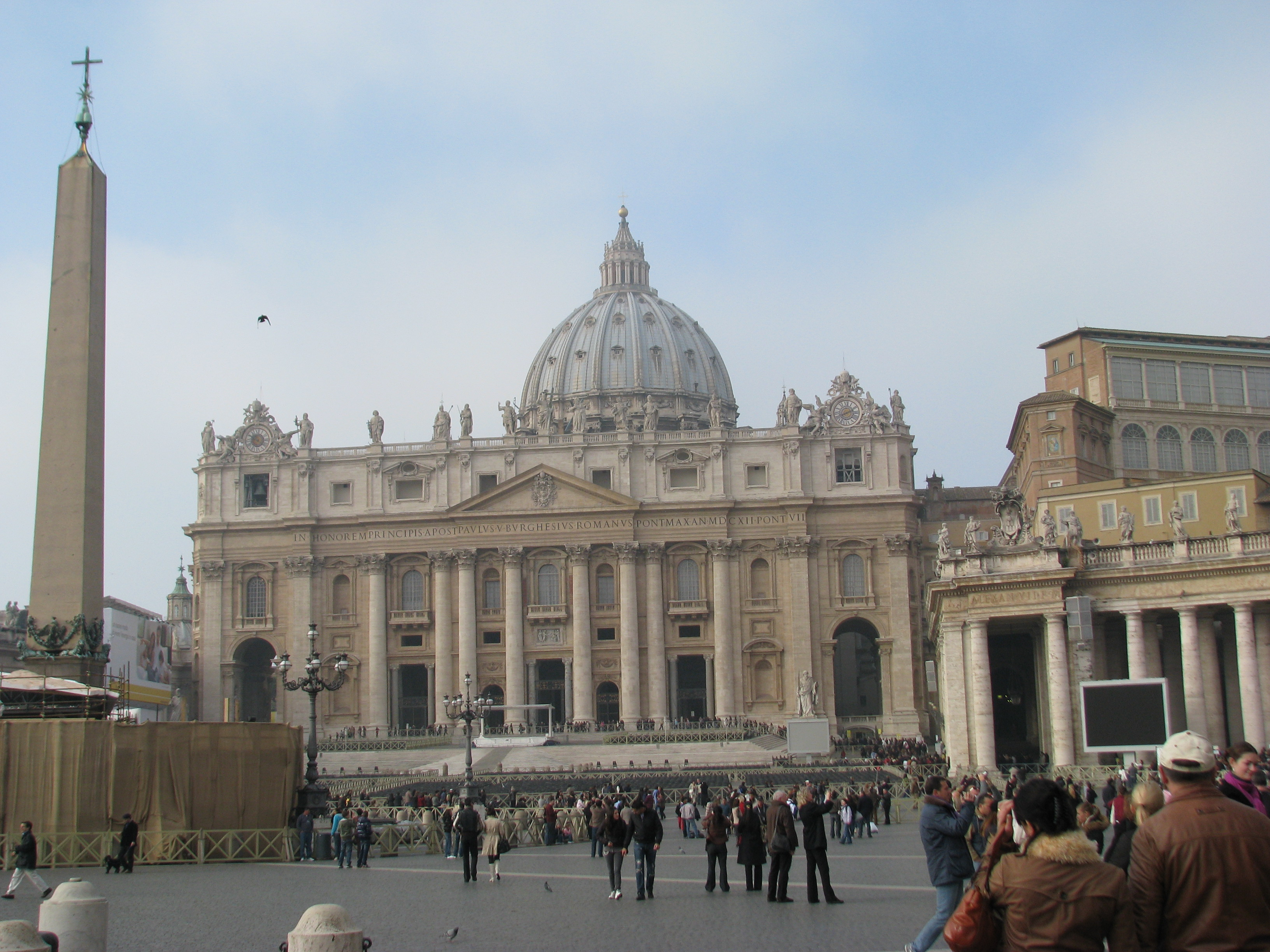 Saint Peter's Basilica and Vatican
