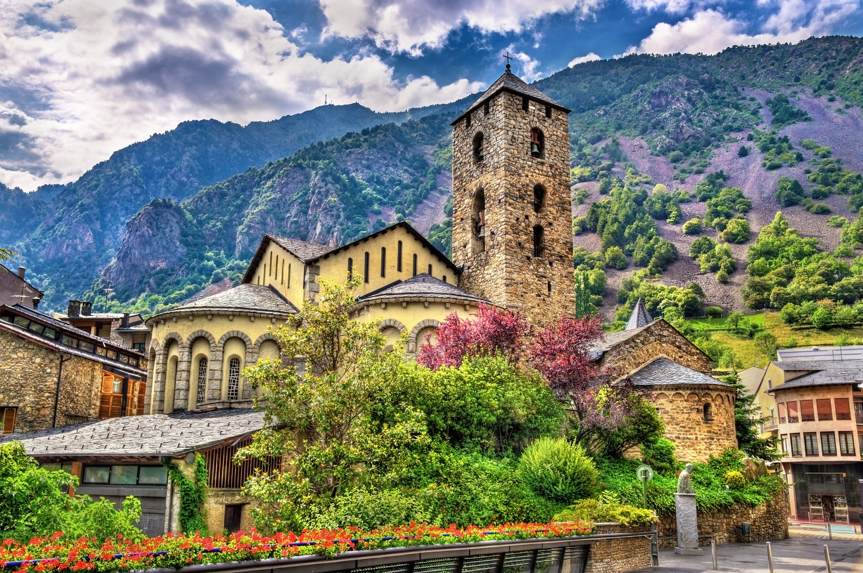 Sant Esteve church in Andorra la Vella, Andorra