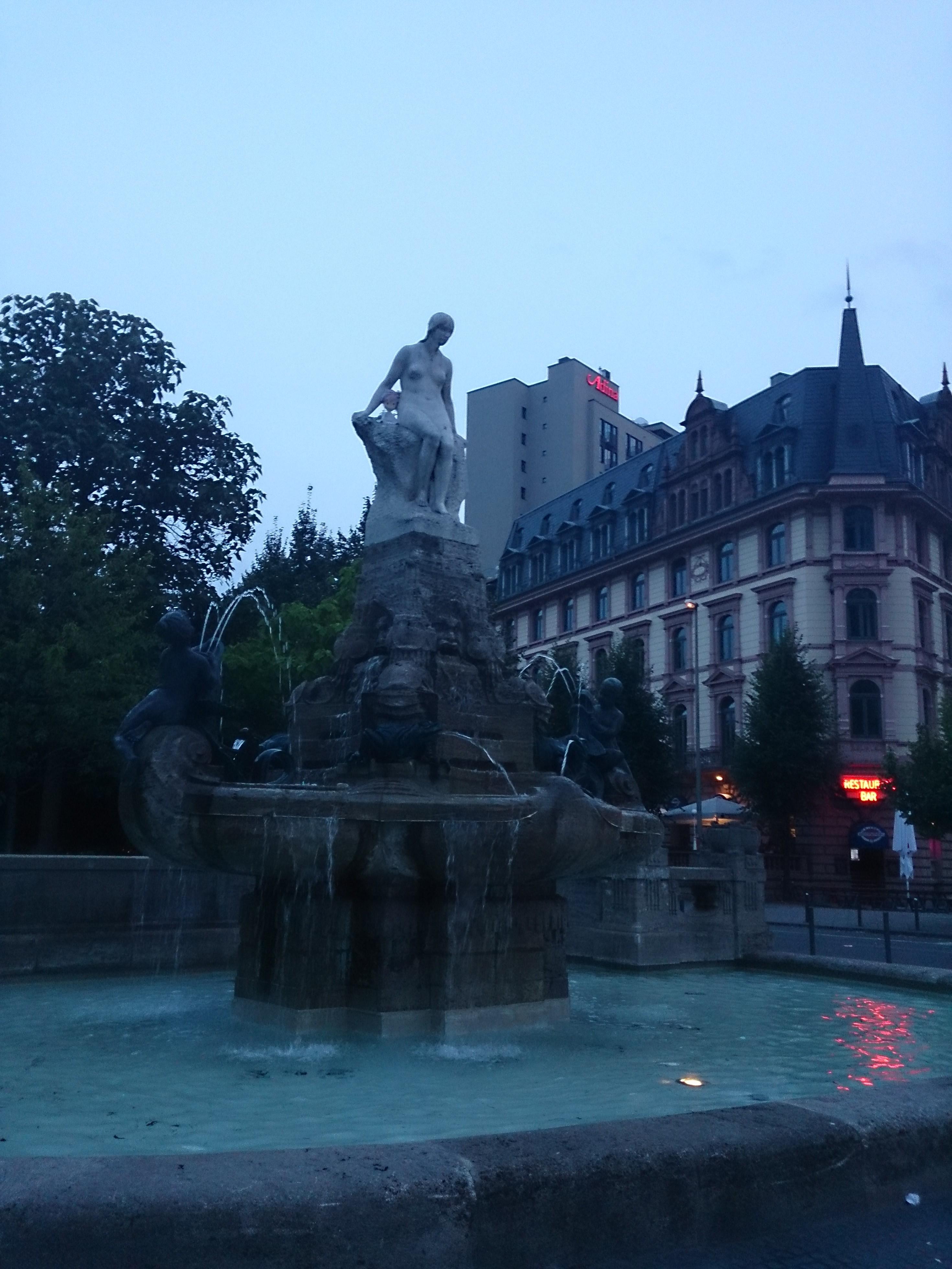 Frankfurt fountain